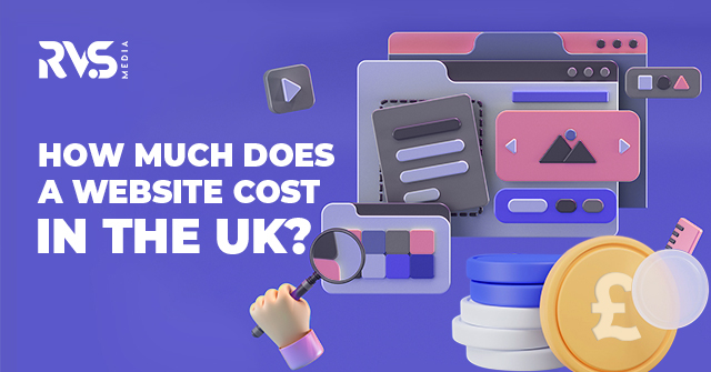 How much a website cost in the uk