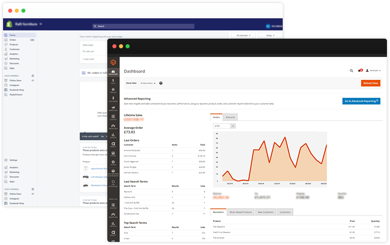 Uninterrupted Magento Dashboard Solutions - RVS Media