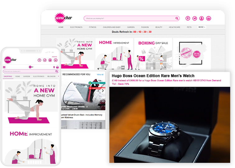 Quality image for Wowcher by RVS Media