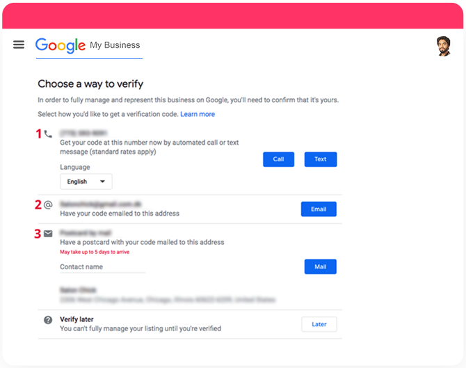 Authenticate Your Business on Google