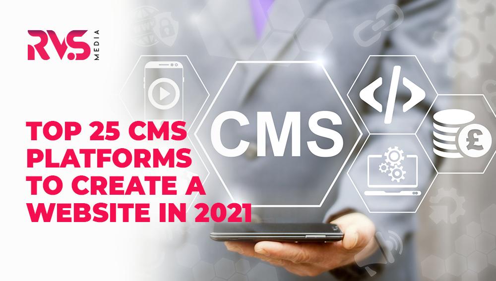 Top 25 CMS Platforms